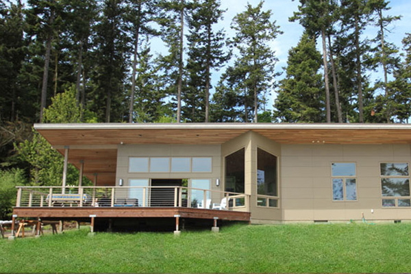 Decatur Island House